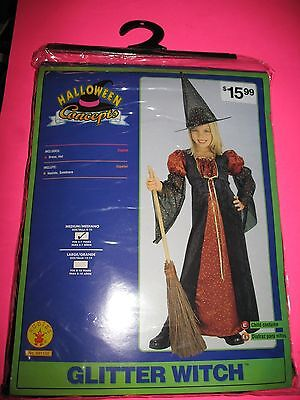 Halloween Concepts Glitter Witch Medium Rubies