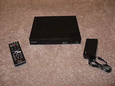 Sony BDP-S3500 Streaming Blu-Ray Disc Player Super WiFi Netflix Internet Apps