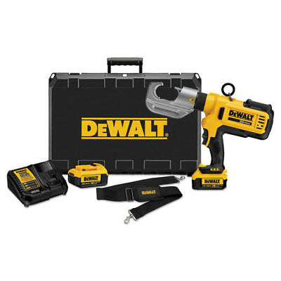 DEWALT 20V MAX Li-Ion Died Electrical Cable Crimping Tool Kit DCE300M2 new
