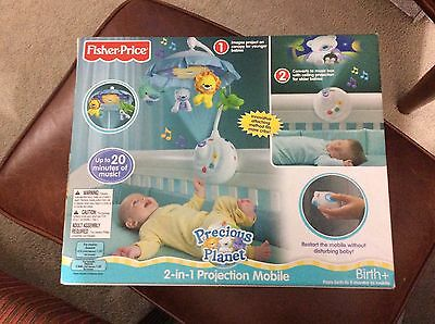 Fisher-Price Precious Planet 2-in-1 Projection Mobile (NIB)