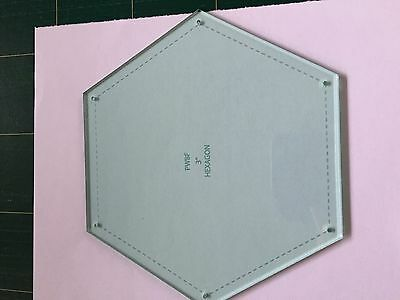 """English Paper Piecing Hexagon Template only 3"""" Sue Daley Design"""