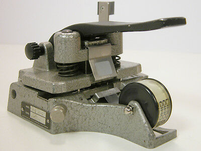 Professional CATOZZO 16MM FILM SPLICER  Works Well
