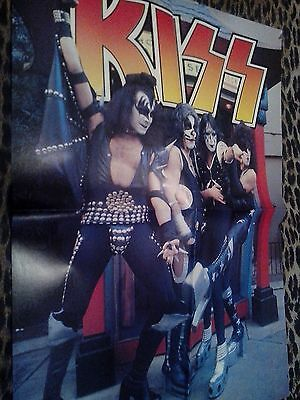 Kiss Group/Paul Stanley Pull-Out Poster
