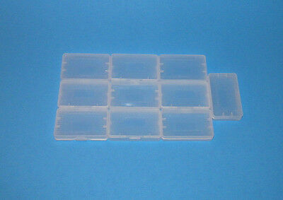 10 Nintendo GBA Game Boy Advance Replacement Cartridge Cases / Dust Covers - NEW