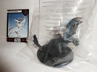 Star Wars Miniatures UNIVERSE OBI-WAN KENOBI on BOGA #5 with Card * WOTC - NEW