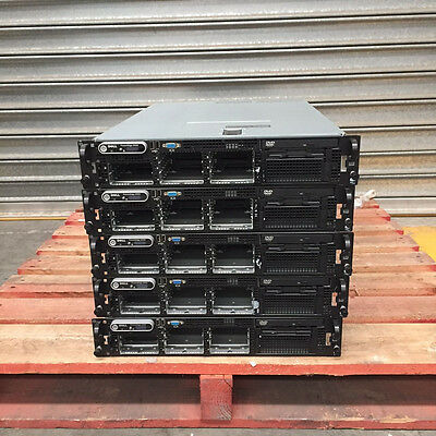 5x Dell PowerEdge 2950 2U 2x Intel Xeon Quad-Core CPU Rack Server
