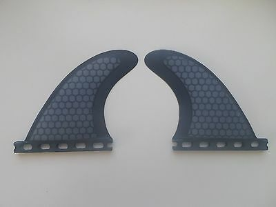 REAR QUAD set PERFORMANCE CORE surfboard fibreglass FINS (2 fins) FUTURES compat