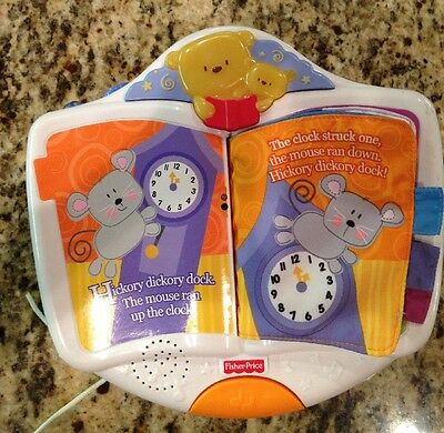 Fisher price discoverN Grow Storybook Projection Crib Soother