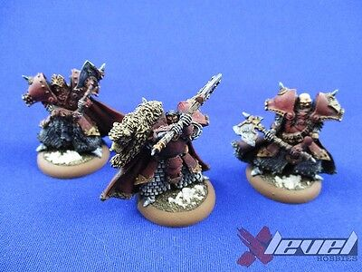 Great Bears of Gallowswood – Metal [x3] Khador [Warmachine] Painted