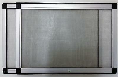 Adjustable Expandable Stainless Steel Mesh Fly Screen Wire Sash Window Diy New