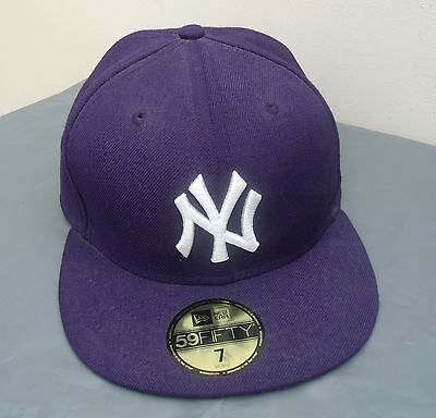 NEW ERA 59FIFTY CAP LEAGUE  NEW YORK NY YANKEES FITTED BASEBALL CAP - 7/55.8cm