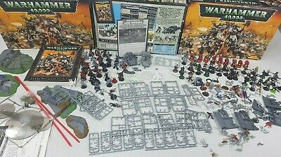 WARHAMMER 40K 3RD edition BIG Bundle Table top game Games Workshop [ENG,  1995]