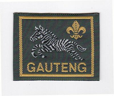 SCOUTS OF SOUTH AFRICA - SOUTH AFRICAN SCOUT GAUTENG DISTRICT Patch