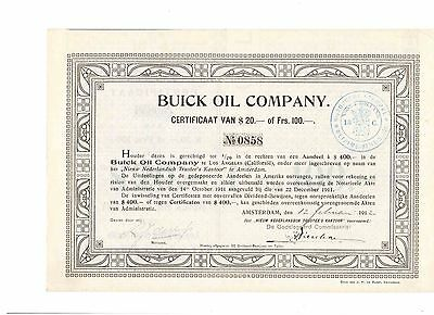 Buick Oil Company   1912  Los Angeles