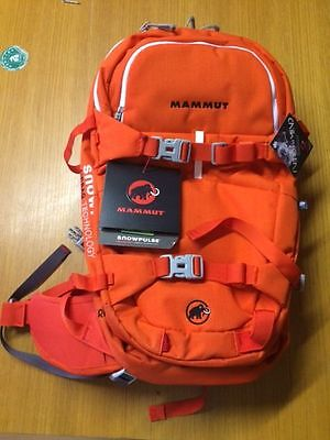 NEW Mammut RideOn 22 avalanche airbag, incl R.A.S. system, backpack