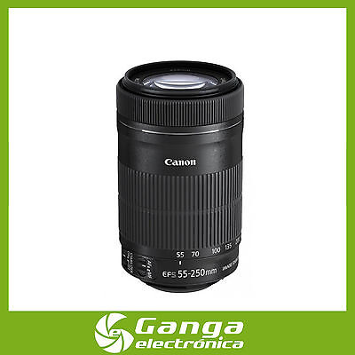 Objetivo Canon EF-S 55-250mm f/4.0-5.6 IS STM [Ship From Spain EU]
