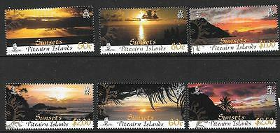 Pitcairn Islands Sg768/73 2008 Sunsets Mnh