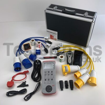 Seaward Primetest 250+ PAT Tester with PAT Course and Extra Kit SEA-K-250+G