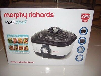 Morphy Richards Intellichef MultiCooker 8in1  NEW AND UNUSED