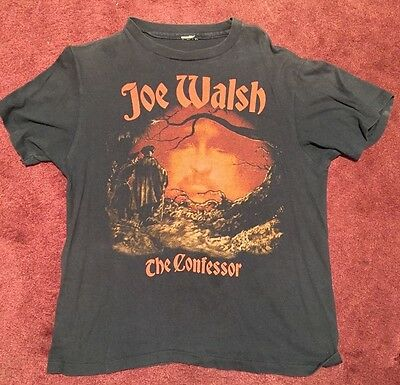 Joe Walsh  - Vintage T-shirt from the 1985 Confessor tour.  Rare