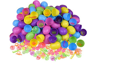 100 Toy filled Easter eggs, surprise eggs filled with Easter toys, 100 pack