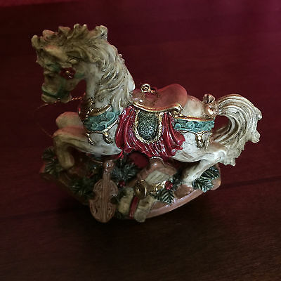 Christmas Rocking Horse Ornament