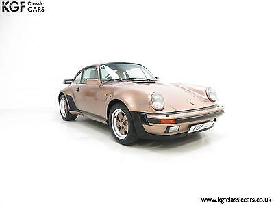 A Beautiful and Extremely Rare UK Porsche 911 M491 Supersport Coupe.