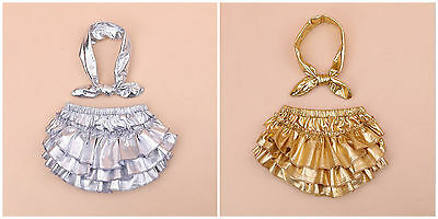 Baby Girls Frilly Knickers Pants born Wedding Christening Party HEADBAN SET