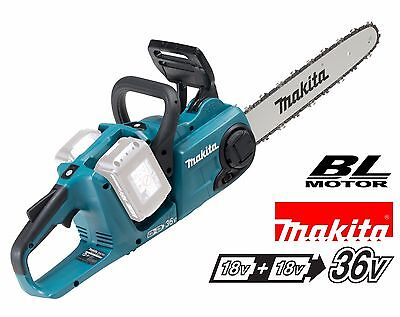 Makita DUC353Z 36v Twin 18v Brushless Cordless Chainsaw 350mm Naked Body Only