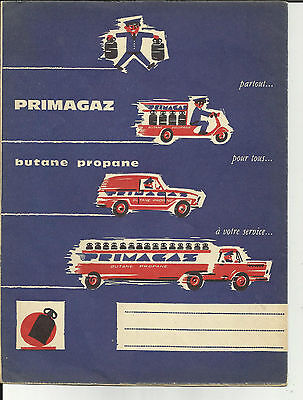 "Protège cahier "" Primagaz-Butane- "" Camion - Transports - véhicules-"
