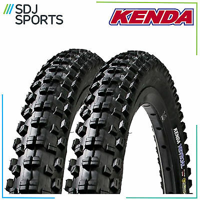 "2x KENDA NEVEGAL 26"" x 2.1 DTC WIRE 60TPI MOUNTAIN BIKE MTB CYCLE TYRES (1 PAIR)"