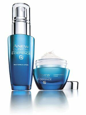 avon ANEW CLINICAL E-Defence SET Multi-Shield Lotion + Deep Recovery Cream 30ml