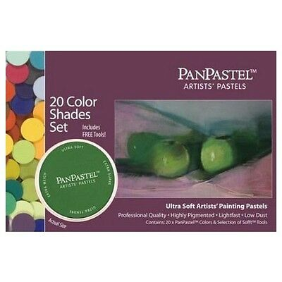 Armadillo Art & Craft Cf30206  Panpastel Set 20 Color Shades