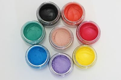 Cosmetic Grade Mineral MICA Colorants for DIY Mineral Makeup & Soap Makings