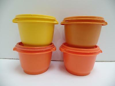 "Tupperware 20oz Servalier Bowl Container 866 5""Instant Seal/Lid 812 Vtg Lot 8  B"