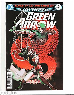 GREEN ARROW #6 1st PRINT SINS OF THE MOTHER BLACK CANARY SHADO REBIRTH DC F