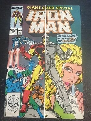 Iron Man#244 Incredible Condition 9.4 Layton Art(1989) Stealth Armor!!