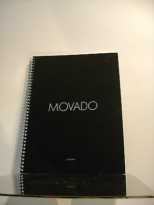 Movado Watch 2015-2016 Picture Catalog Reference Guide Booklet