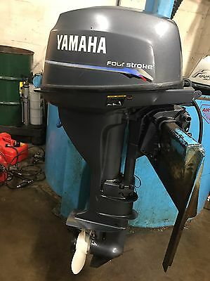 Yamaha 9.9HP High Thrust Long Shaft Electric Start 4-Stroke Outboard + Remotes