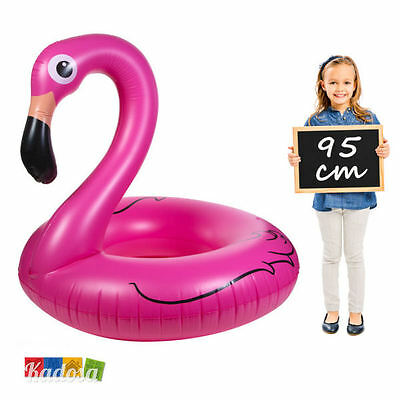 Maxi Salvagente Gonfiabile Fenicottero Rosa Flamingo Piscina Mare Vacanze Party