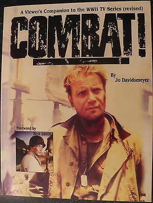 Combat! A Viewer's Companion to the Classic TV series - signed by the author