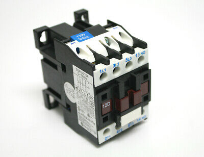 Contactor Motor Lighting Control Relay Up To 12Hp 110V/120V Coil C12D10D7