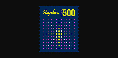 Rapha Festive 500 2016 Roundel and Postcard  |  Brand New |  Cycling Badge
