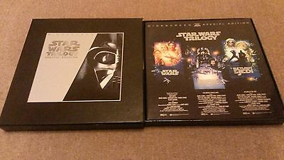 Star Wars Trilogy Special Edition Laserdisc Boxset