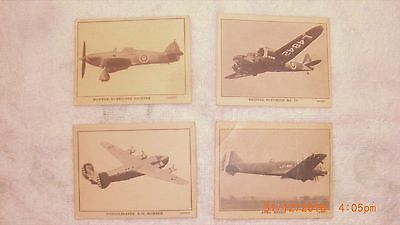 1940's Wartime Saratoga Products Airplanes with Breakfast Cards Found in Chips
