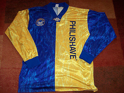 1995 1996 Bangor FC L/s Football Shirt Adults XL Jersey Ireland