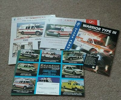 Osage Ambulance brochures