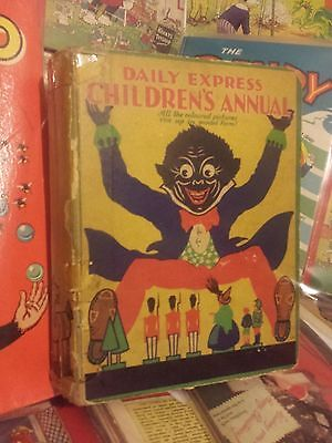 Rupert Daily Express Childrens Annual 1930s  no writing or inscriptions