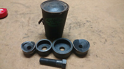 """Greenlee 737 Knockout Punch Set - 1.5"""" and 2"""" Knockouts"""