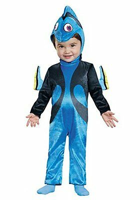 Disguise Baby Girls' Finding Dory Costume, Blue, 6-12 Months